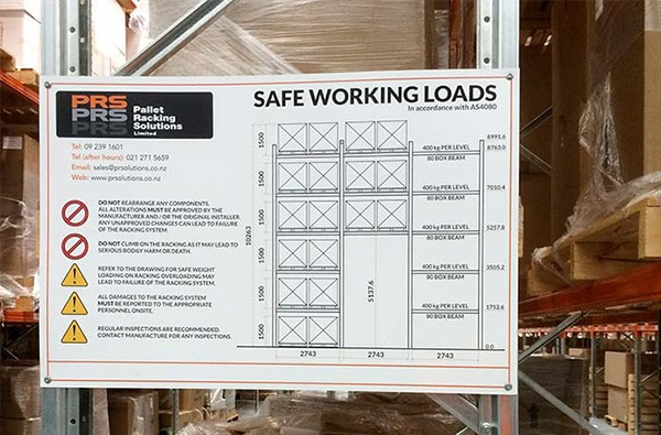 safe working loads