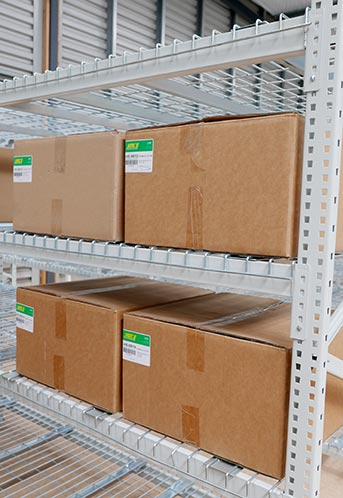 Longspan shelving by Pallet Racking Solutions