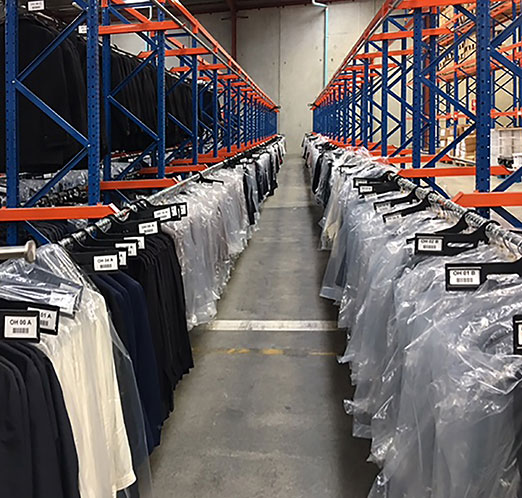 Hanging Garment Racking